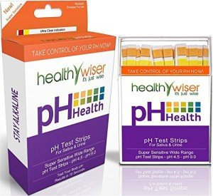 Test Strips can be used to check your Ph of your drinking water.