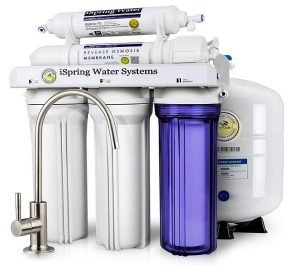 iSpring RCC7 5-Stage Residential Under-Sink Reverse Osmosis Water Filter System