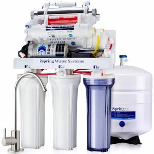 iSpring RCC1UP-AK 7 Stage 100 GPD RO Water Filtration System
