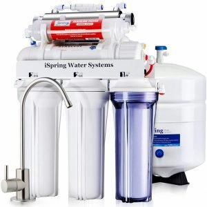 iSpring RCC7AK-UV 7-Stage RO Water System