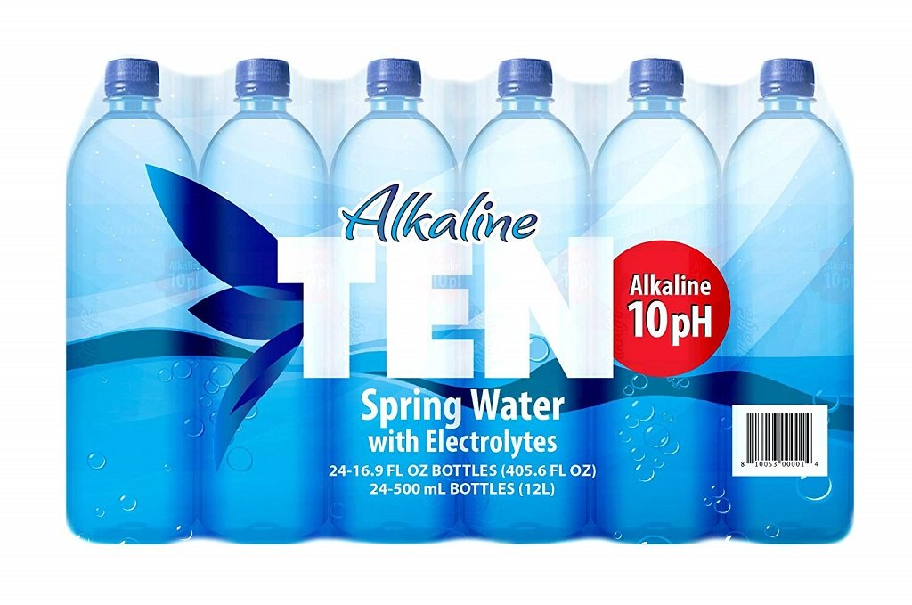 Alkaline Ten - Our choice for the best natural bottled alkaline water brand